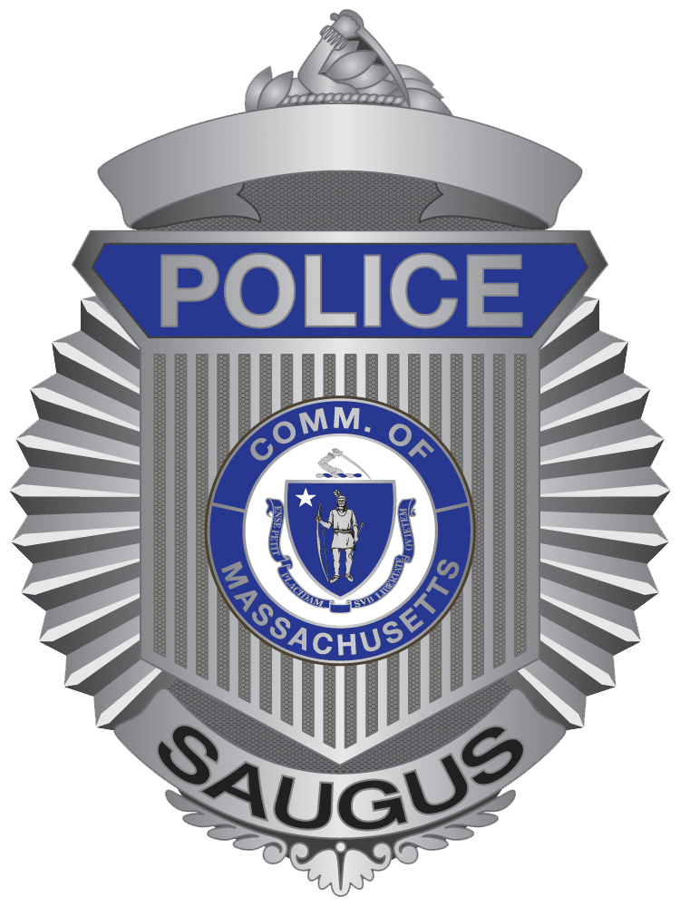 Saugus Police Badge